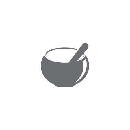 Kitchen icon cooking tools vector flat design