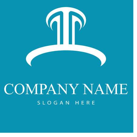Column Logo Template vector symbol nature