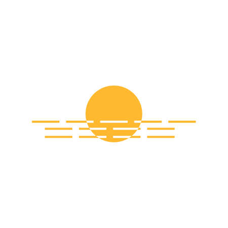 Sun Vector illustration Icon Logo Template design 向量圖像