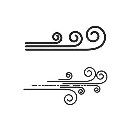 Wind Logo Template vector symbol nature
