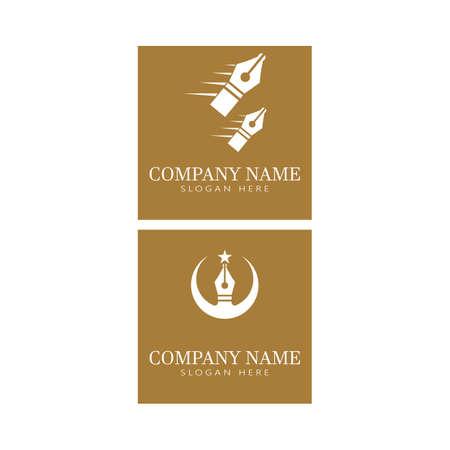 Nib Logo Template vector symbol nature