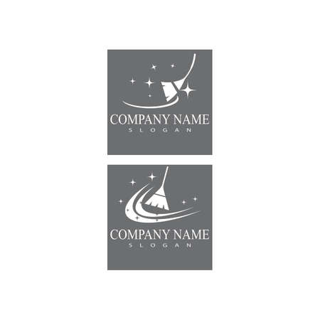 Cleaning Logo Template vector symbol nature