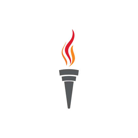 Torch Logo Template vector symbol nature