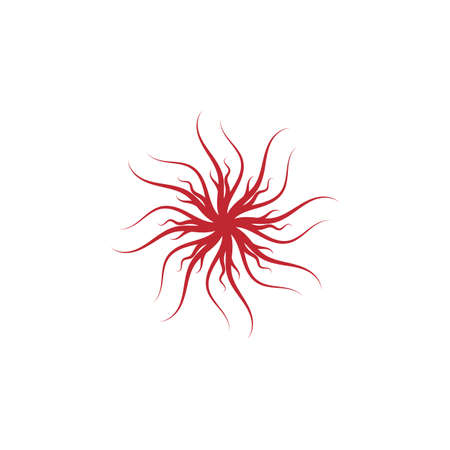 Veins Logo Template vector symbol nature Logo