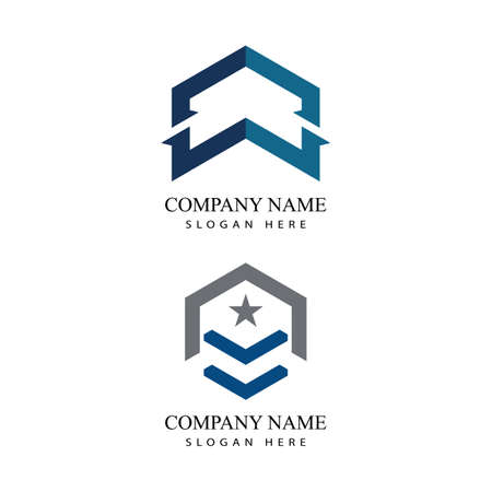 Business Finance professional logo template vector icon Logó