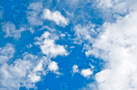 Blue sky with clouds Stock Photo - 13029315