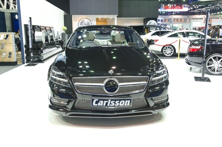 BANGKOK - MARCH 30: Carlsson car on display at The 33th Bangkok International Motor Show on March 30, 2012 in Bangkok, Thailand.