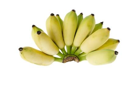 Cultivated banana ripe photo