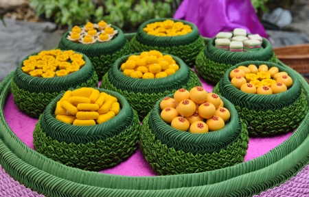 artificial thai desserts. Stock Photo - 16129075