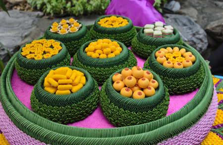 artificial thai desserts. Stock Photo - 16129114