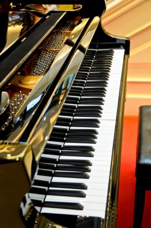 musical score: piano keys