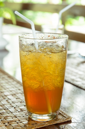 iced tea: iced tea with ice