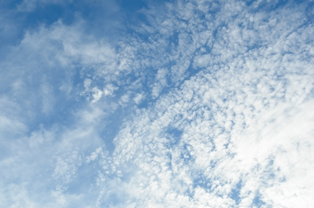 Blue sky with clouds Stock Photo - 17439262