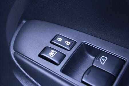 lift lock: car door panel control