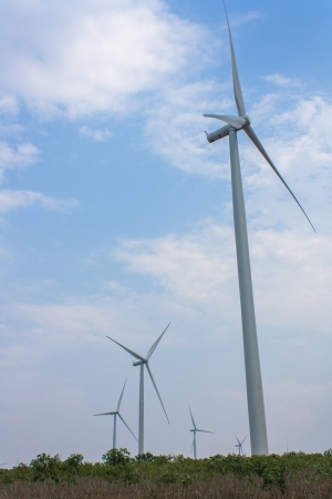 Eco power,  wind turbine photo