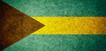 bahamas celebration: Grunge Flag of bahamas