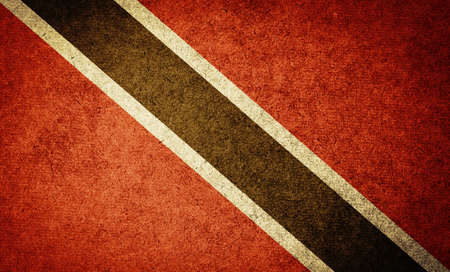 Grunge Flag of Trinidad and Tobago photo