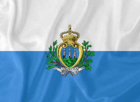 marino: San Marino waving flag