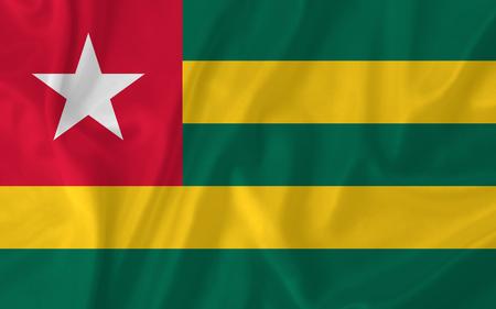 Togo waving flag photo