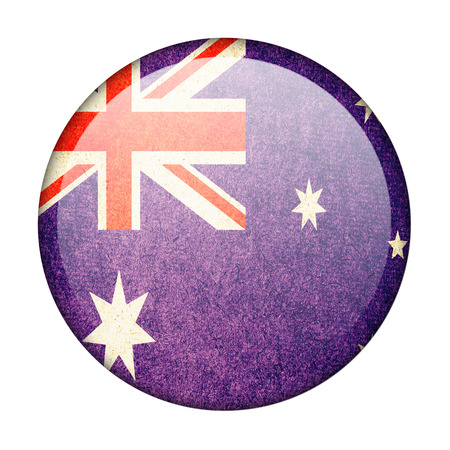 australia button flag photo