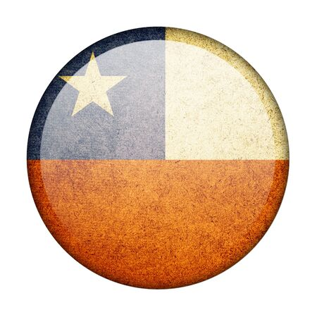 Chile button flag photo