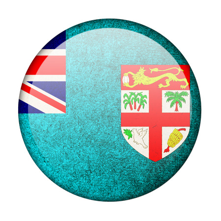 Fiji button flag photo