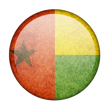 Guinea-Bissau button flag photo