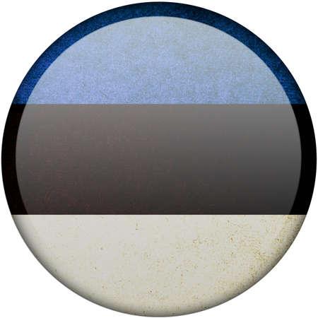 Estonia button flag photo