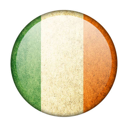ireland button flag photo
