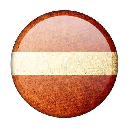 latvia: latvia button flag Stock Photo