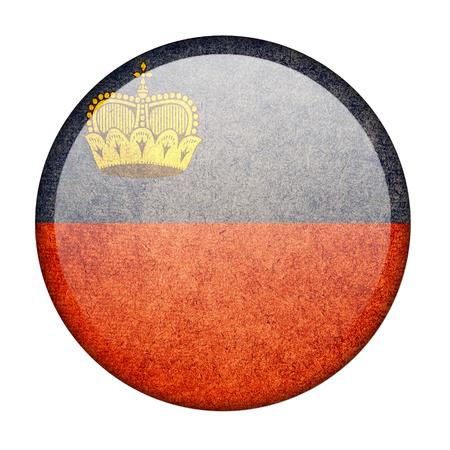 liechtenstein: Liechtenstein button flag