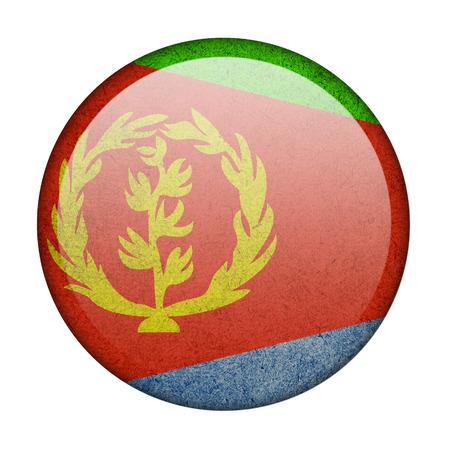eritrea: Eritrea button flag