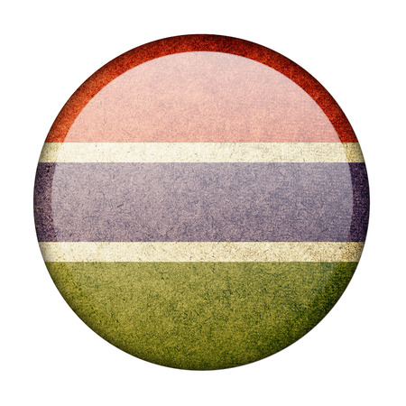 Gambia button flag photo