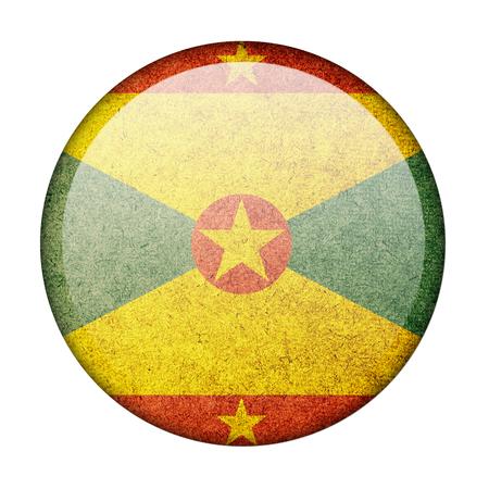 grenada: Grenada button flag