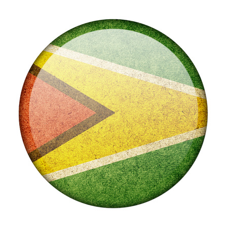 Guyana button flag photo