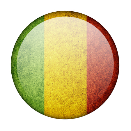 Mali button flag photo