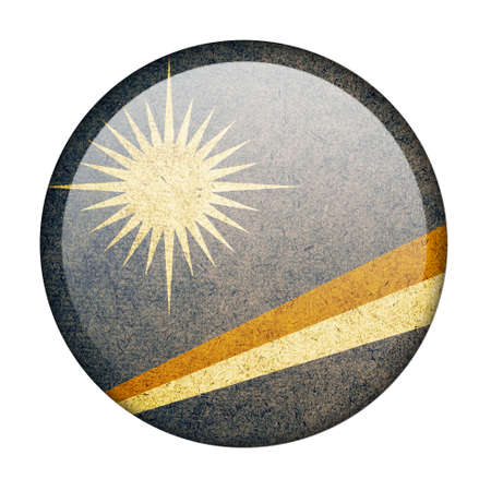 marshall: Marshall Islands button flag