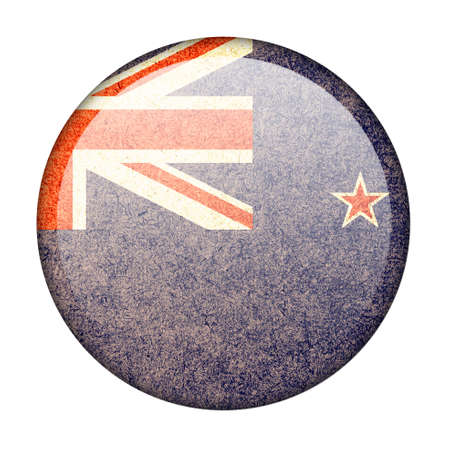 New Zealand button flag photo