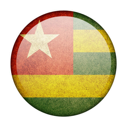Togo button flag photo