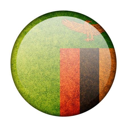 zambia: Zambia button flag