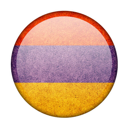 Armenia button flag photo