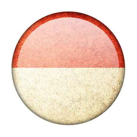 Indonesia button flag