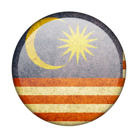 Malaysia button flag photo