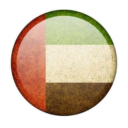United Arab Emirates button flag photo