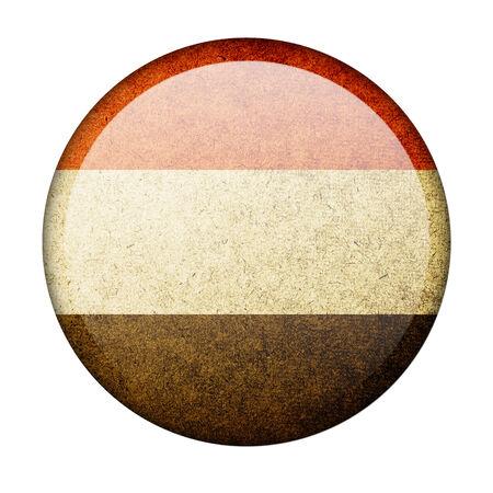 yemen: Yemen button flag