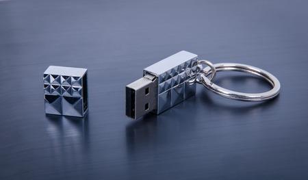 usb flash: USB Flash Drive closeup
