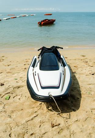 jetski: Jetski on the beach,pattaya thailand