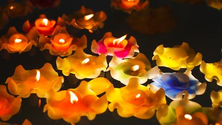 luz de velas: Candlelight Primer de la oscuridad.