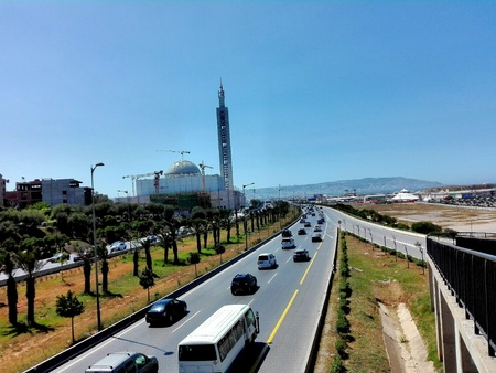 Road to algiers, algeria Editorial