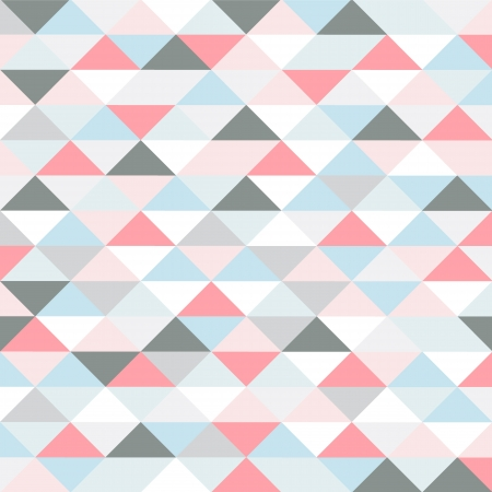 pastel colored: retro pattern of geometric shapes. pastel colored triangles